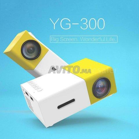 Mini projecteur LCD Full HD Vidéo Projecteur - 1
