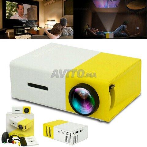 Mini projecteur LCD Full HD Vidéo Projecteur - 6
