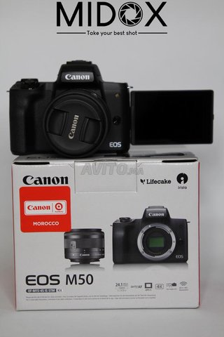 Canon M50 16-50mm is STM neuf  Magasin Midox SHOP - 1