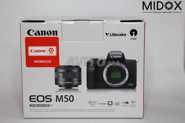 Canon M50 16-50mm is STM neuf  Magasin Midox SHOP - 6