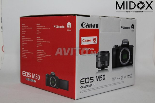 Canon M50 16-50mm is STM neuf  Magasin Midox SHOP - 5