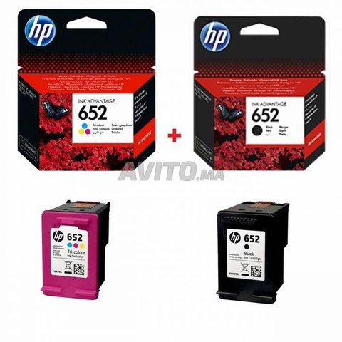 Les Cartouches HP 652 Noir & Couleur Original Neuf - 1