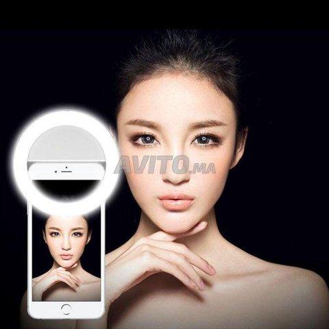 Selfie Led ring lumière téléphone  - 1