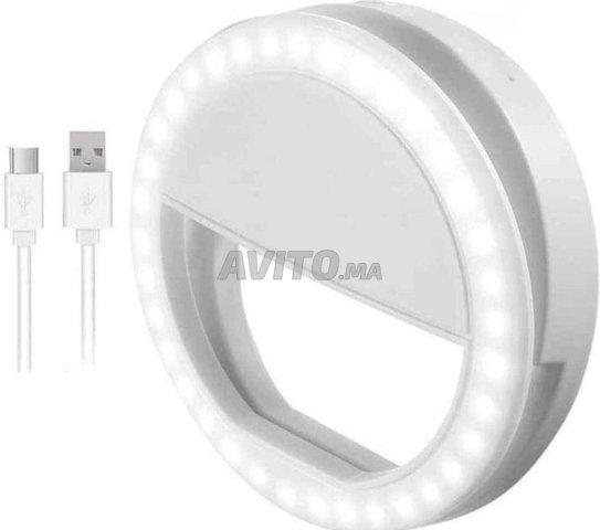 Selfie Led ring lumière téléphone  - 3