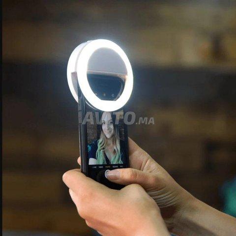 Selfie Led ring lumière téléphone  - 2