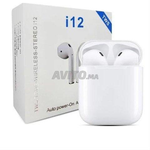 I12 Écouteurs sans fil Bluetooth 5.0 TWS i12 - 2