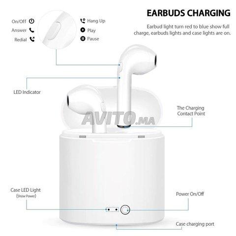 Écouteurs sans fil i7s tws Bluetooth 5.0 - 4