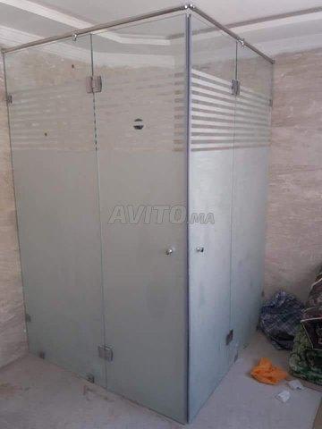 verre trempé cabine de douche ext.. - 3