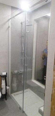 verre trempé cabine de douche ext.. - 4