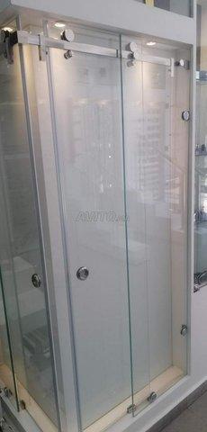 verre trempé cabine de douche ext.. - 1