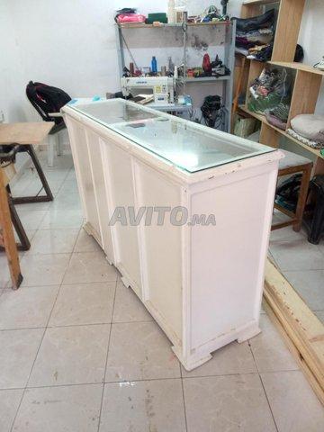 comptoir en bois  - 1