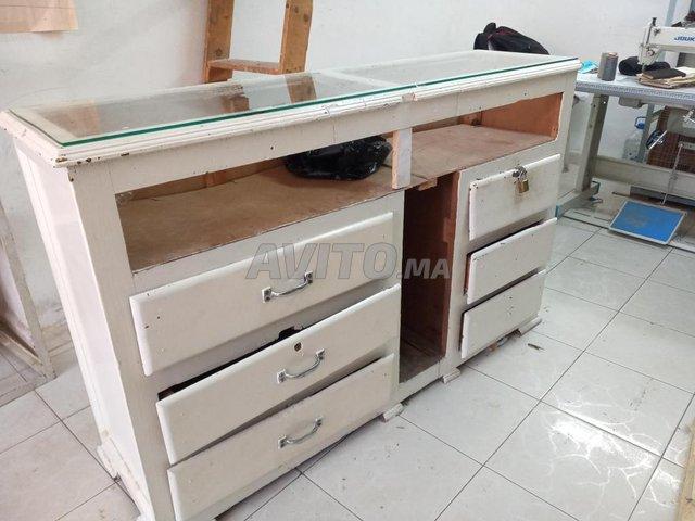 comptoir en bois  - 3