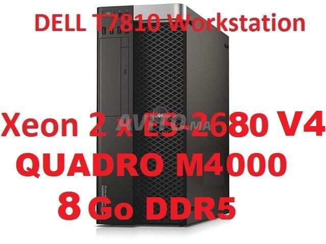 S.T Dell T7810 /2*E5-2680 V4 / Quadro M4000. 8Go - 1