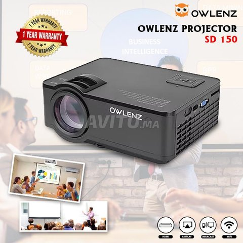 Home Theater New Projecteur HD 720P Multimedia - 1