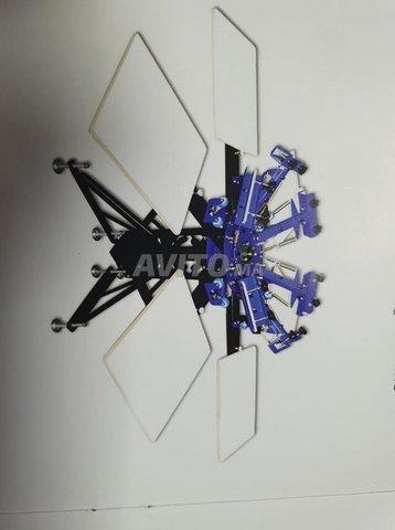 Machine de sérigraphie 6tables cn print - 1