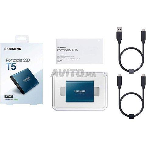 Samsung SSD externe portable T5 500Go USB 3.1 - 2