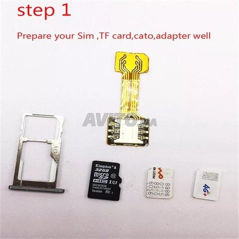 SIM Extender utilisation deux cartes sim - 2