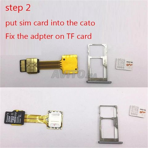 SIM Extender utilisation deux cartes sim - 3