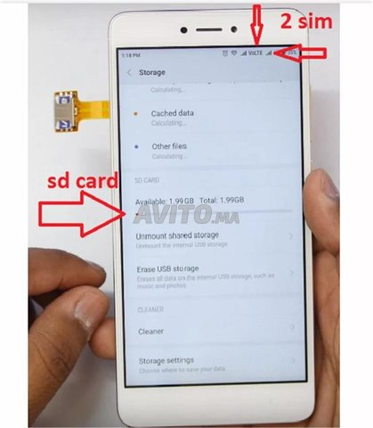 SIM Extender utilisation deux cartes sim - 5
