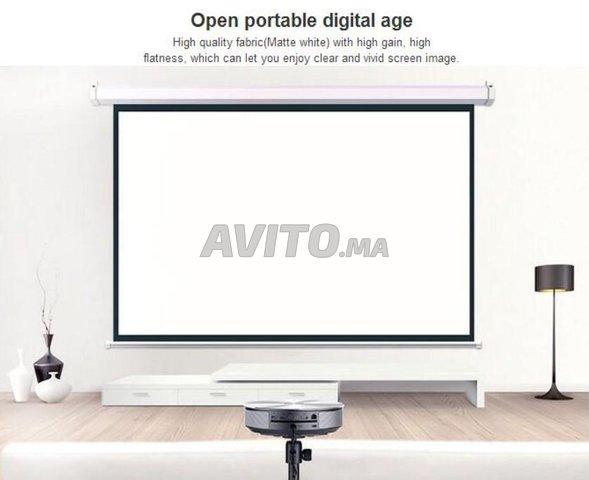 OWLENZ HD 100 Pouce Électrique Écran De Projection - 1