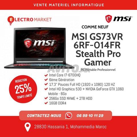 MSI Pro Gamer 1060 gb écran de 17.3 4k - 1