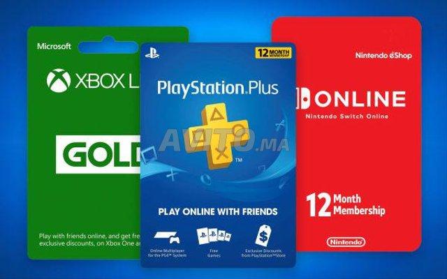 Cartes prépayés Playstation PSN/XBOX/STEAM - 1