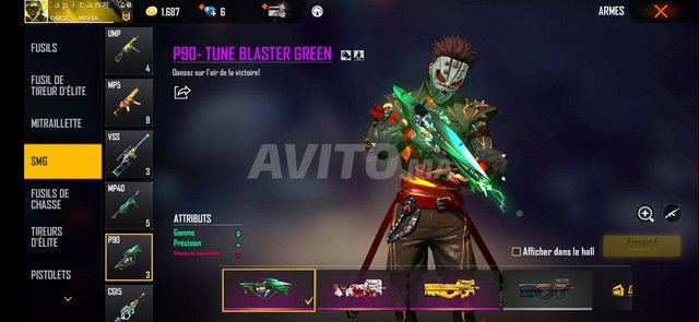 account free fire - 3