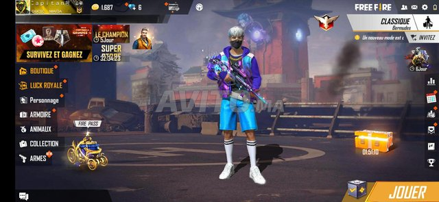 account free fire - 4