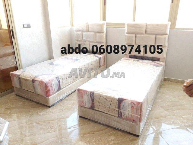 le lit une place 90/190 Et matelas  - 2