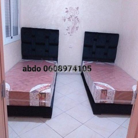 le lit une place 90/190 Et matelas  - 5