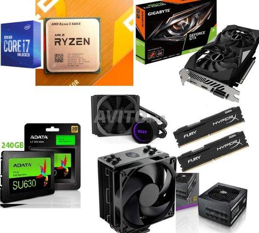 PC gamer cpu-gpu-ram-ssd-Cooling-alim - 1