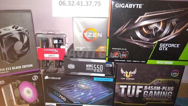 PC gamer cpu-gpu-ram-ssd-Cooling-alim - 2