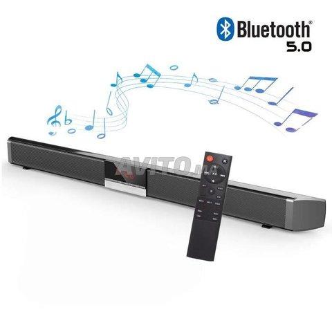 Barre de son 5.0 Bluetooth 87 cm Subwoofer intégré - 1