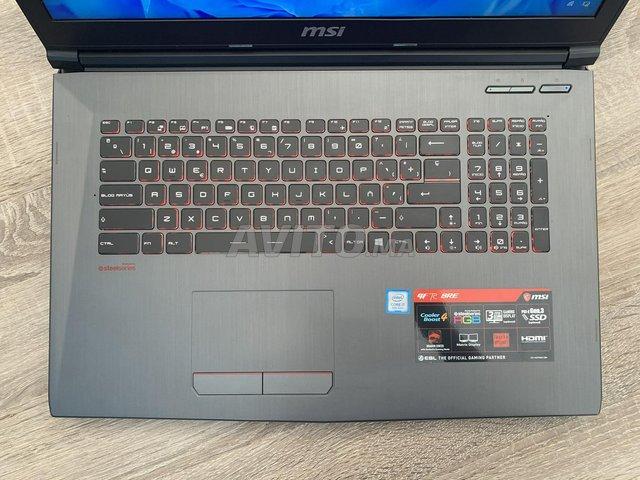 MSI G72 8RE I i7 8Gen I GTX 1060 - 2