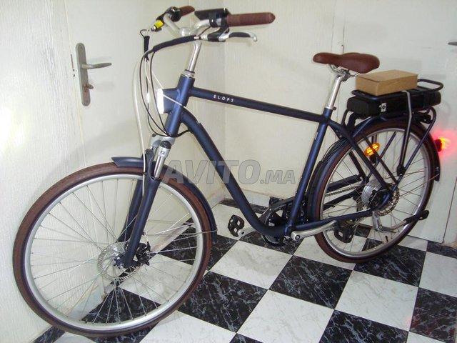 vélo électrique btwin Bleu 900e Taille L - 1