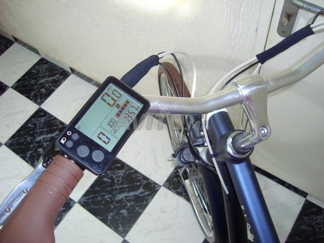vélo électrique btwin Bleu 900e Taille L - 5