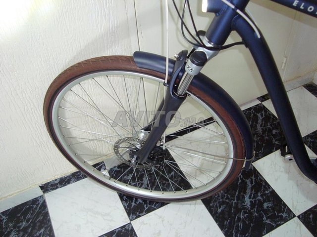 vélo électrique btwin Bleu 900e Taille L - 7