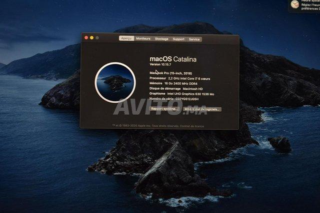 Apple MacBook Pro 15  Retina Core i7 2018 - 3