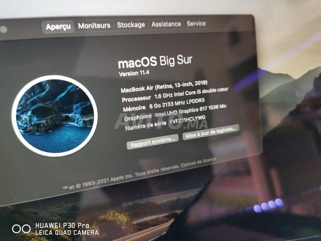 Macbook Air Retina 2019 13P i5 8Go 128Go SSD TBE - 5