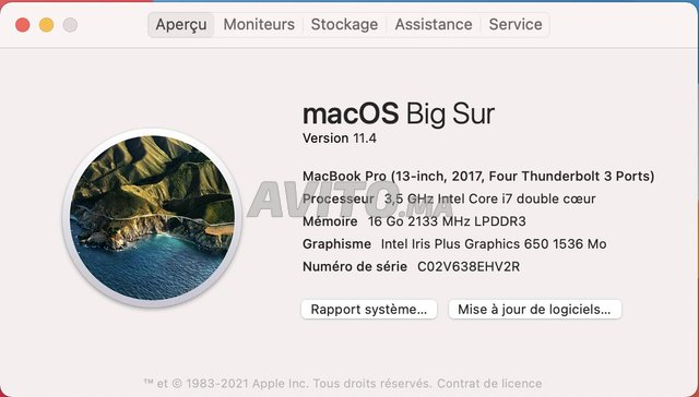 MacBook Pro i7 Touch Bar 16GB 512SSD Gris sidéral - 4