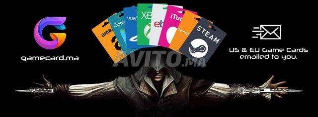 Carte iTunes GooglePlay PSN Shein (GameCard) - 2