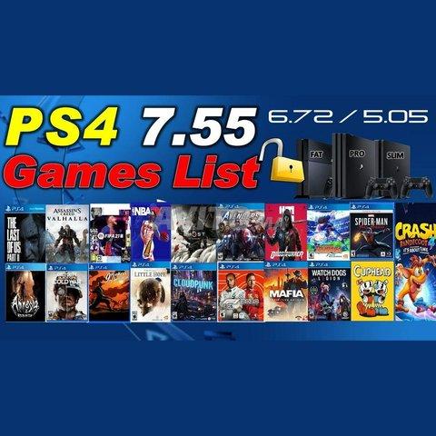 PS4 Pro 1 To Plus 20 Jeux FLASH CFW 6.72 Neuf - 1