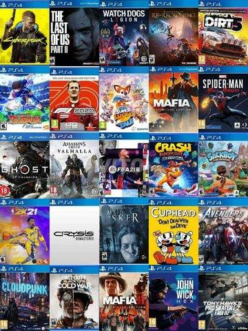 PS4 Pro 1 To Plus 20 Jeux FLASH CFW 6.72 Neuf - 2