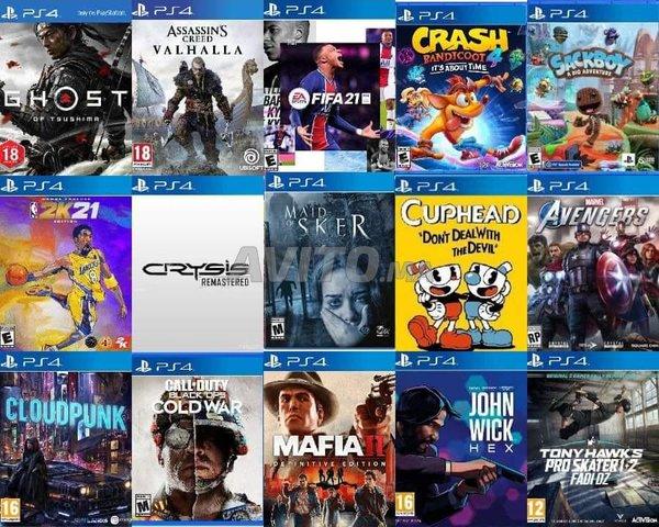 PS4 Pro 1 To Plus 20 Jeux FLASH CFW 6.72 Neuf - 3