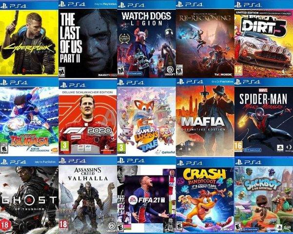 PS4 Pro 1 To Plus 20 Jeux FLASH CFW 6.72 Neuf - 4