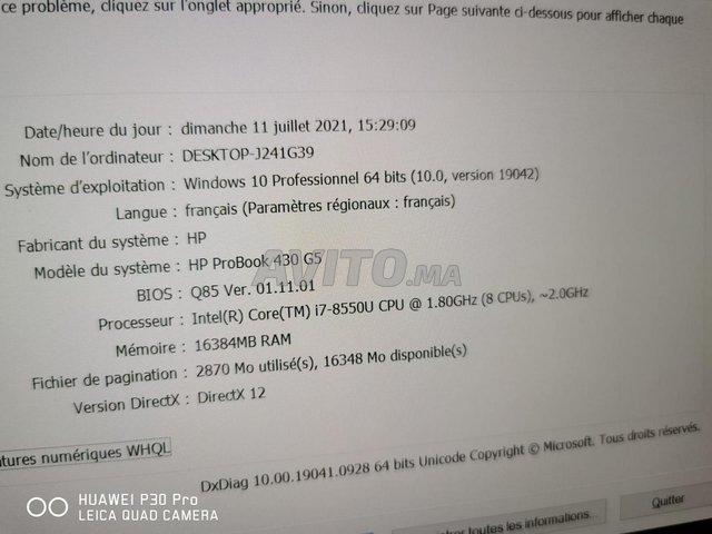 HP Probook 430 G5 i7 8TH 16Go 512Go FHD Display - 6