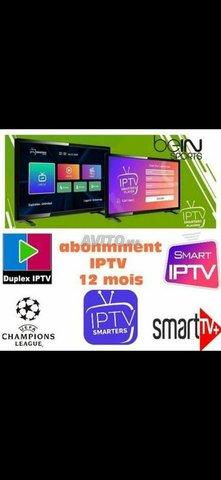 TOP iptv 4K chaînes Tv vod sans coupures 1 an - 1