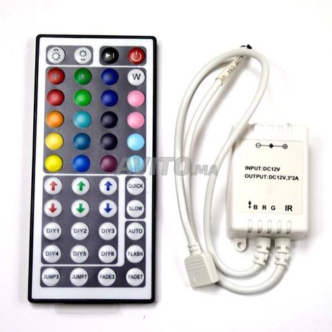 CONTROLEUR LED RGB 44B - 1