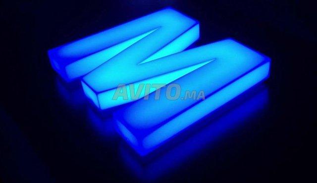 LED Module 5730  3 LED Couleur Bleu - 4