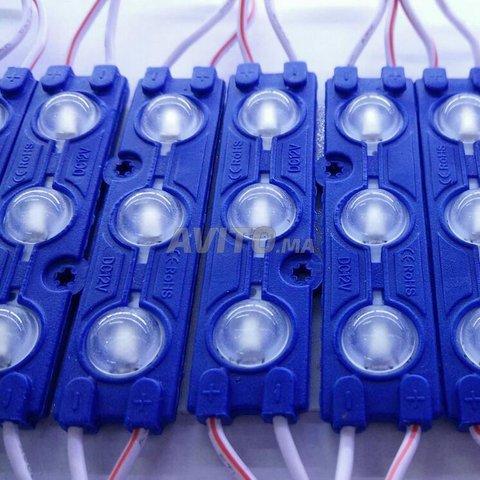 LED Module 5730  3 LED Couleur Bleu - 1
